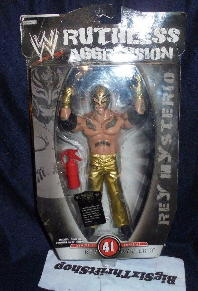 Rey Mysterio Jakks ruthless aggression series 41 vs Rey Mysterio Jakks Road to WrestleMania 22 Series 2 184497693856578711