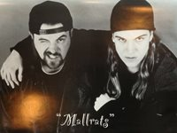 "Mallrats Movie poster- Jay and Silent Bob 22""x34"" black and white"