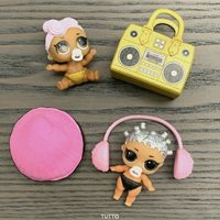LOT 2X LOL Surprise Dolls LiL Sisters L.O.L ROCKER /& LIL SERIES 1 2 TOYS