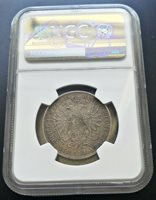 Hungary NGC XF40 Transylvania 1 Florin Gulden 1865 E Silver Franz Joseph RARE!