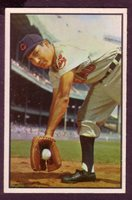 1953 BOWMAN COLOR ROBERT AVILA CARD NO:29 NEAR MINT CONDITION