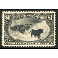 US 292 Early Commemoratives VF LH with PFC cv 1400+