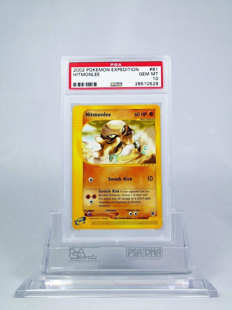 Pokemon Expedition Uncommon Card #81//165 Hitmonlee