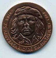 Terrific Cuba 2003 Che Medal Great Collectors Item