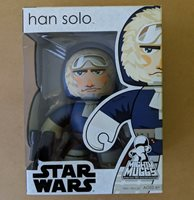 Star Wars Mighty Muggs Han Solo Hoth figure 57421