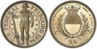 SWITZ. 1934-B AR 5 Francs (Shooting Thaler). PCGS MS66PL Richter 431a.