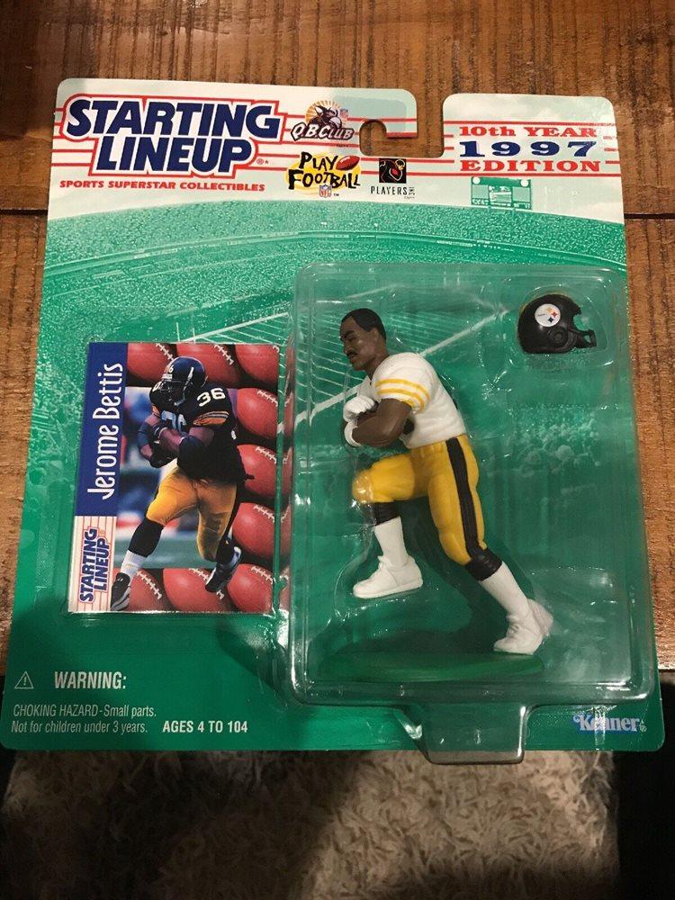 Pittsburgh Steelers 1997 JEROME BETTIS Sports Figure SLU Starting Lineup