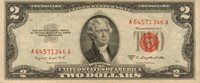1953-B US Note Red Seal, High Grade Note (Z-86)