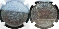 Better Date**NGC--AU 50**1860 Luxembourg 10 Centimes*Nice Old-days scale