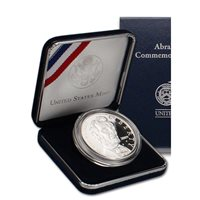 2009 Abraham Lincoln Silver Dollar Proof