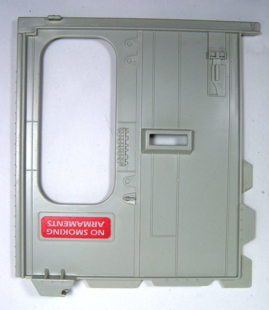 "BULKHEAD DOOR /""A/"" 1986 GI Joe TERROR DROME Parts M-4017"