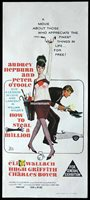 HOW TO STEAL A MILLION Original Daybill Movie Poster Audrey Hepburn Peter O'Toole
