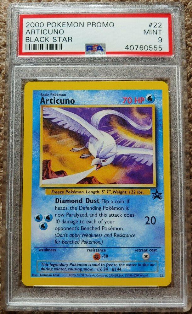 2000 Pokemon Black Star Promo /_#48  Articuno