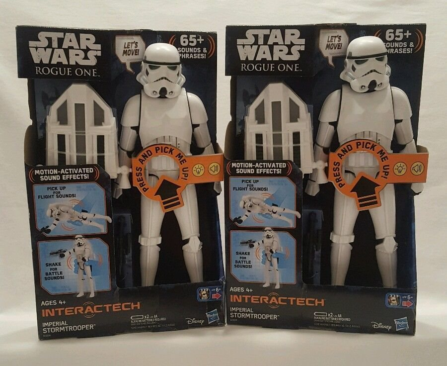 """Rogue One Interactech Imperial Stormtrooper 12/"""" Action Figure NEW Star Wars"""