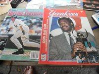 1985 New York Yankees Scorebook & Souvenir Program, 2000 Spring Training Magazin