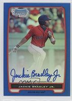 Jackie Bradley Jr. #23/150 (Baseball Card) 2012 Bowman Chrome Prospects Certified Autographs Blue Refractor [Autographed] #BCP66
