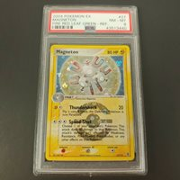 REVERSE HOLO CARD 27//112 FIRE RED LEAF GREEN NM POKEMON: Magneton