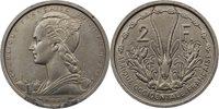 2 Francs 1948 Komoren Kurscoin Essai Cupro-nickel