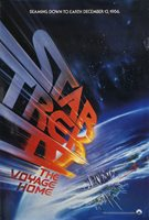 Star Trek IV: The Voyage Home 1986 U.S. One Sheet Poster