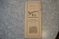 SCRANTON LIFE INSURANCE AUGUST 11TH, 1933. THE CHEAPEST! FREE SHIPPING!!