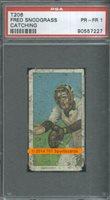 1910 T206 Fred Snodgrass Catch PSA 1 - $50.00