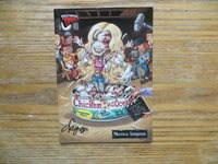 2007 TOPPS HOLLYWOOD ZOMBIES MESSICA SIMPSON CARD SIGNED LAYRON DEJARNETTE