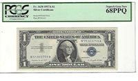 1957-A FR-1620 Silver Certificate N-A block PCGS 68 PPQ Superb Gem New