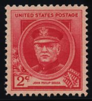 Scott 880, SUPERB NH, PSE Cert, Grade 98, 1940 2c Sousa