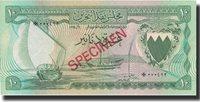 10 Dinars Bahrain Banknote, L 1964, Km:6s
