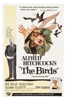 The Birds (Universal, 1963). One Sheet Original Movie Horror Poster Classic
