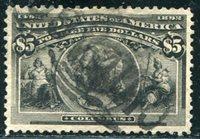 All Large Margins (U.S. General ; Scott#: 245)