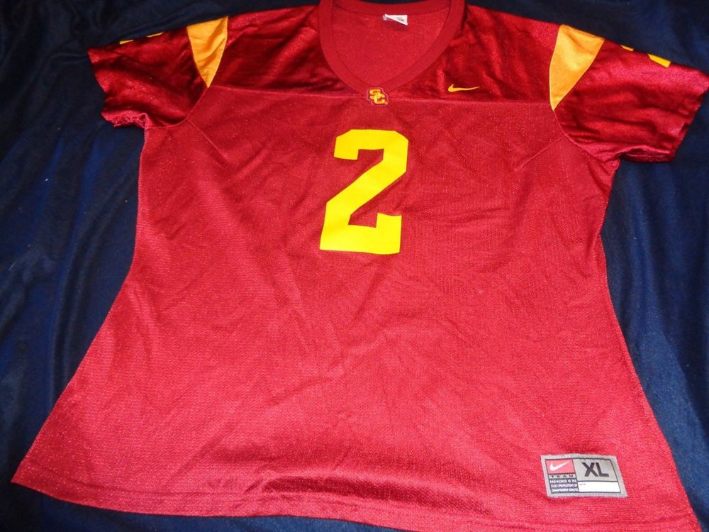 1e252c63aad5 Nike NCAA USC Trojans  2 Ladies Womens Football Jersey