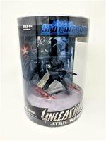 Star Wars Unleashed Shadow Stormtrooper Black Shadowtrooper - tube packaging MIB