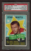 1968/69 O-Pee-Chee #211 Stan Mikita Triple Winner psa 8pd
