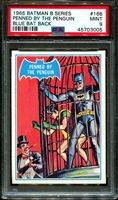 1966 BATMAN B SERIES #16B PENNED BY THE-BLUE BAT BACK POP 5 PSA 9 N2870212-005