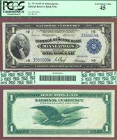 1918 $1.00 FR-734 Minneapolis