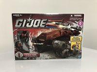 GI Joe 30th Anniversary Cobra Crimson HISS w/ Crimson Horseman *NEW/SEALED*