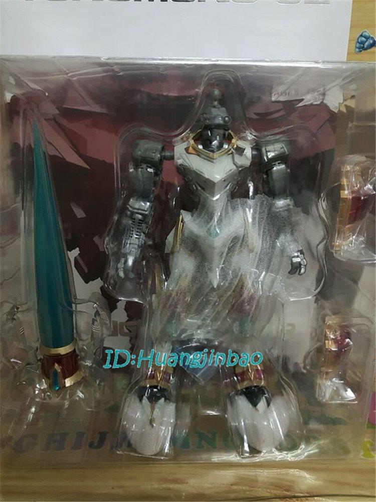 DIGIMON dukemon tungmung EX prima Action Figure modello nella casella in magazzino con supporto