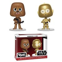 Vynl Star Wars - Chewbacca & C-3PO