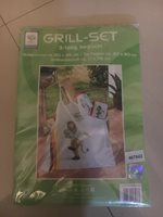 RARE Collectible Soccer FIFA WORLD CUP Germany 2006 Grill Set / Barbecue Apron