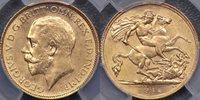 Australia, 1915 Melbourne Half Sovereign