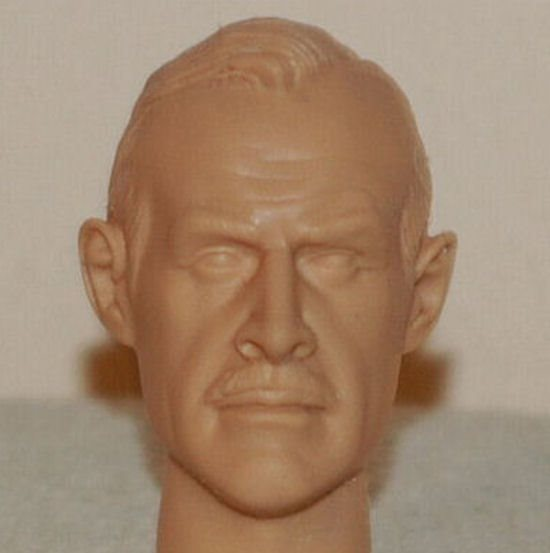 1//6 SCALE CUSTOM YOUNG SEAN CONNERY FIGURE ACTION HEAD GILBERT