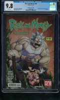 RICK AND MORTY #35 BRAIN TRUST EDITION ASM #300 HOMAGE CGC 9.8 NM//MT