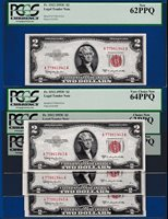 Fr.1512 $2 1953 C LEGAL TENDER UNITED STATES NOTE - BIRTH YEAR SERIAL # 1945