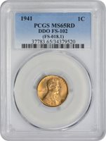 Lincoln Cent (Wheat Reverse), 1941 MS - PCGS Auction Prices