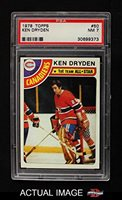 1971 72 Topps Base 45 Ken Dryden Psa 7 Nm