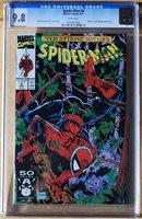 1991 Spider-Man #8 - CGC Graded 9.8 - Near Mint to Mint!