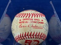 1979 National League All Stars Signed Official Baseball with 26 Signatures ASCOA