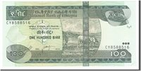 100 Birr 2012 Äthiopien Banknote