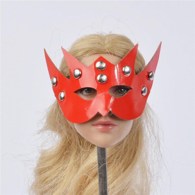 Mask fancy for 1//6 custom KUMIK Action Figure Female Phicen Triad Toys jiaou